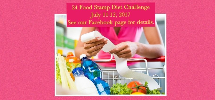 24 Hour Food Stamp Diet Challenge